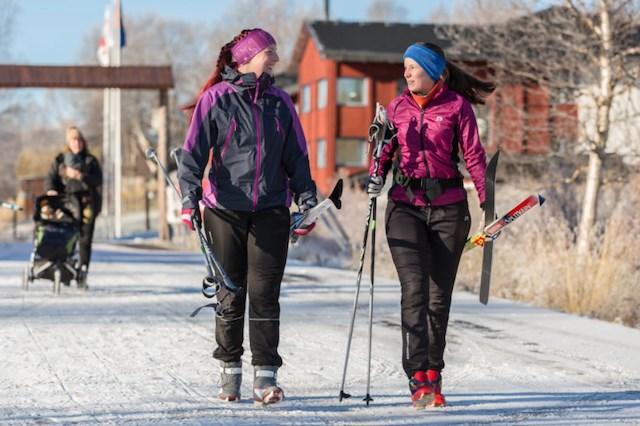 Vintervecka på Tungården med självhushåll