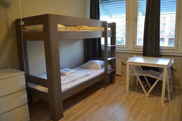 8-bäddsrum/Familjerum med delat badrum