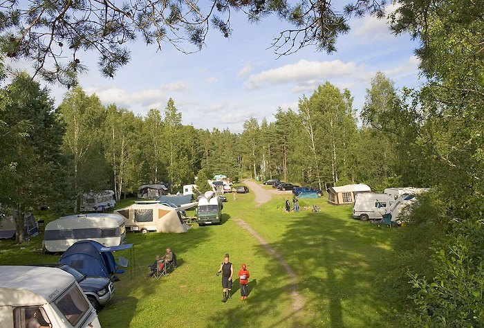 Our campsite - the most popular