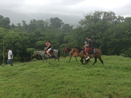 Accommodation / Horse Riding Tour to Guanche River