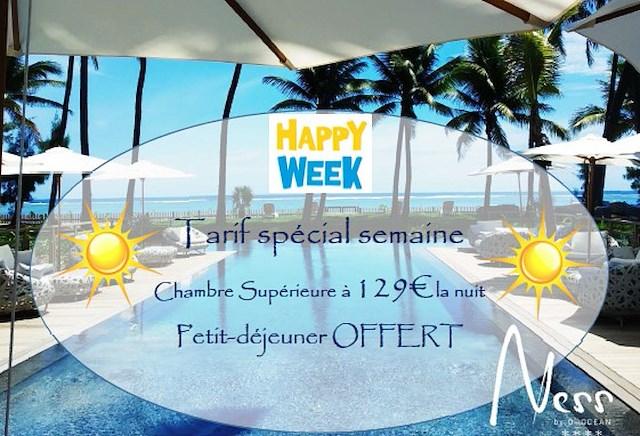 """Offre Spéciale """"Happy Week"""""""