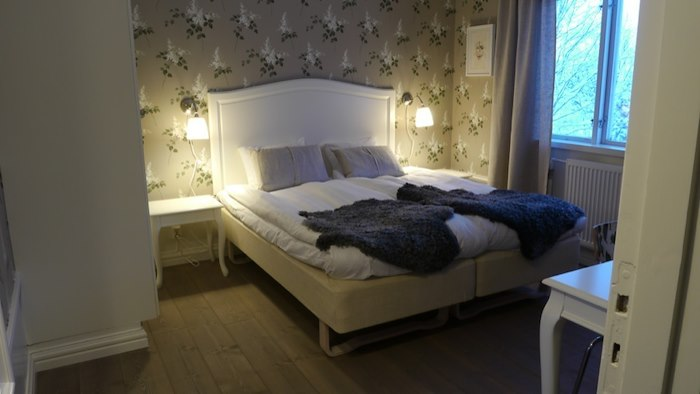 Double room at Solbacken