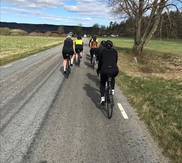 Cykla i gränsbygd mellan Västergötland och Halland