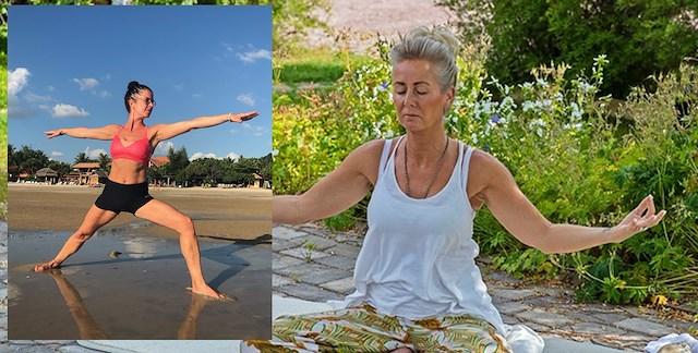 Hälsokur 3-10 aug. Yoga - två systrar