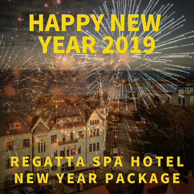 Regatta Happy New Years paketti alk. €115 hlö/2hh