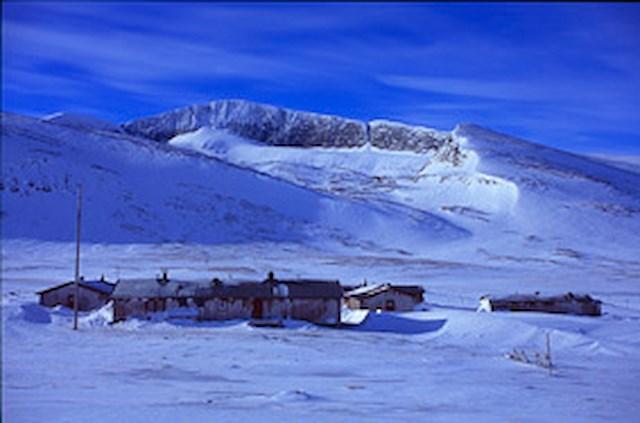Vintervecka med skotertur till Helags