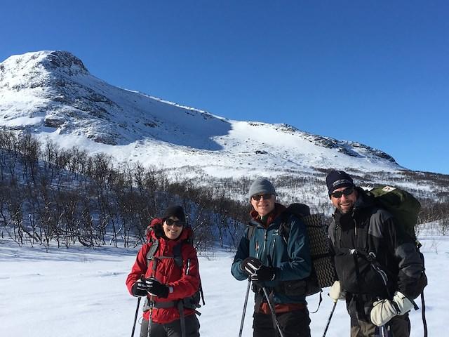 Vårvinter på hög höjd med guide 25 - 31 mars 2021