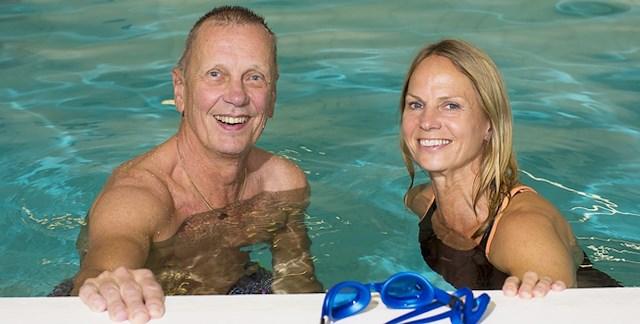 Hälsohelg 17-20 sept. Vattenträning
