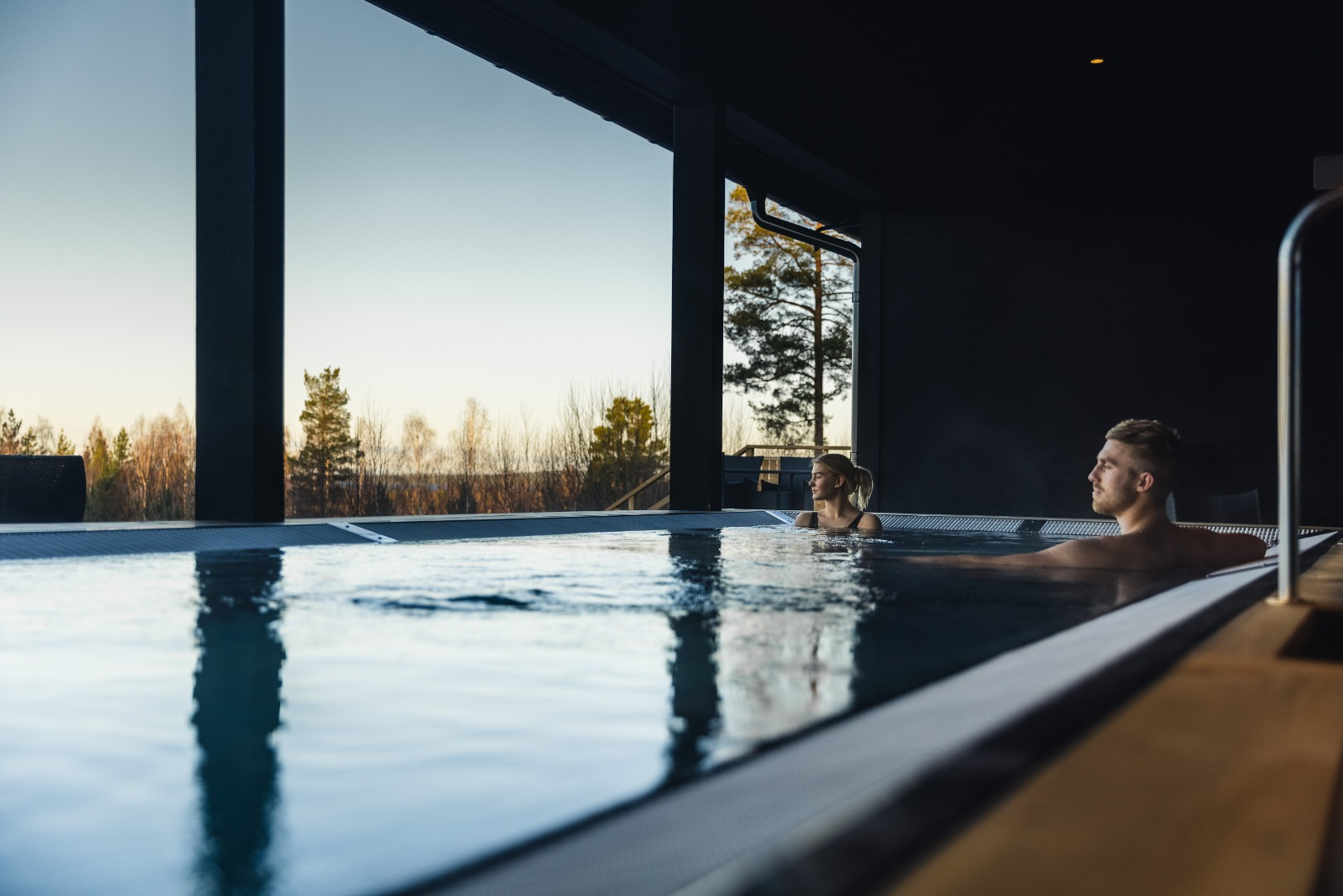 Spa-paket med behandling & middag