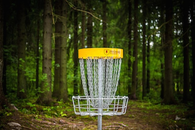 Frisbeegolf package