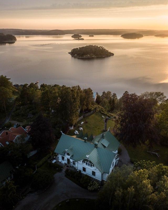 Minisemester med hund på Villa Sjötorp