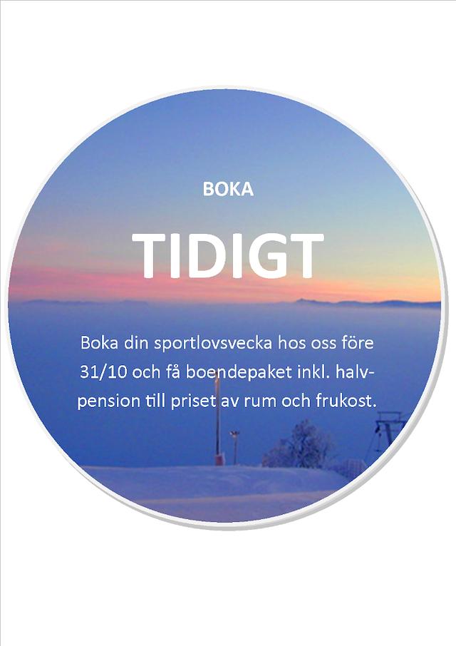 BOKA TIDIGT-RABATT Sportlovspaket!