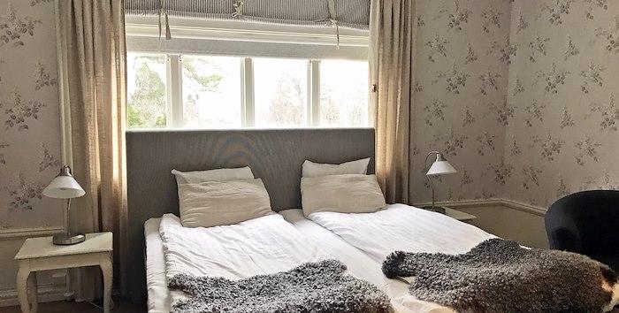 Double room at Solbacken