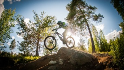 Downhill bike package
